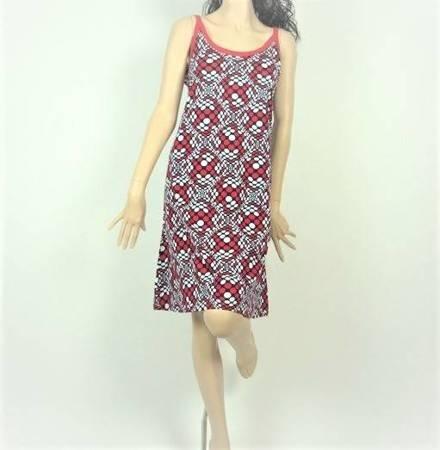 Sukienka Plażowa Bawełna 3D MARINE L