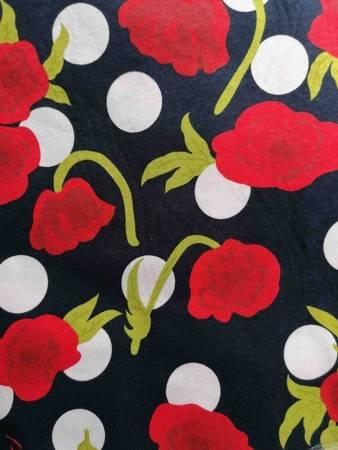 Sukienka Plażowa Bawelna RÓŻE MARINE GREEN 3XL