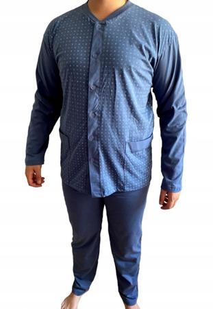 piżama męska ARNI - CIEMNY DENIM 6XL-7XL