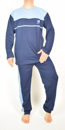 piżama męska BELLO OLIWKA/KHAKI S-XXL (44-60)