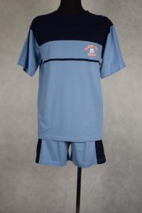 piżama męska BELLO SZARY/GRANAT S-XXL (44-60)