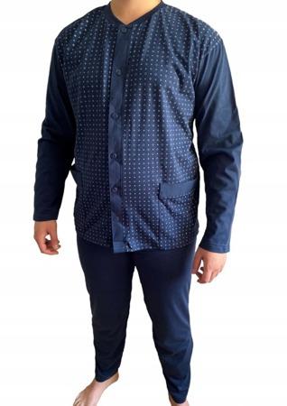 piżama męska WIKTOR - GRANAT M-5XL