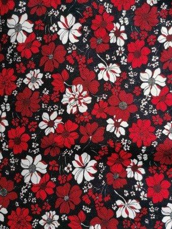sukienka plażowa KWIATY MARINE S-3XL